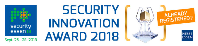 Security Innovation Award 2018
